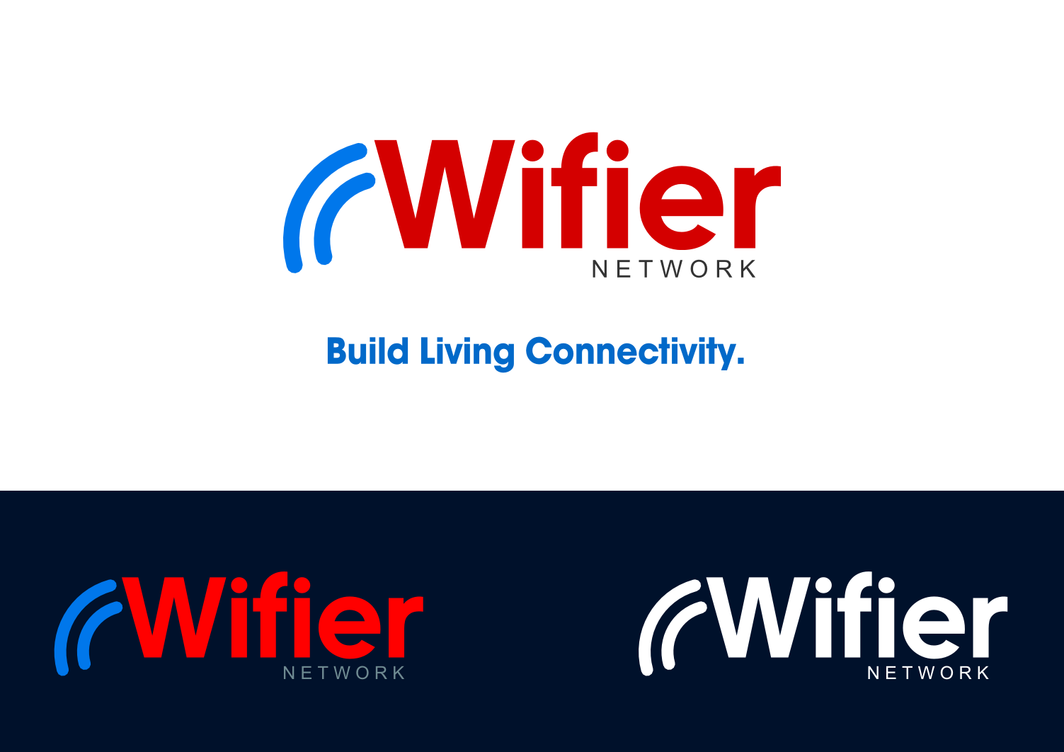 Logo Design by whoosef - Entry No. 99 in the Logo Design Contest New Logo Design for Wifier Network.
