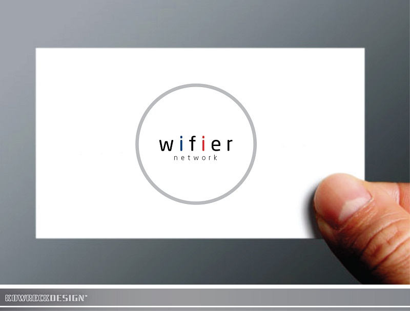 Logo Design by kowreck - Entry No. 103 in the Logo Design Contest New Logo Design for Wifier Network.