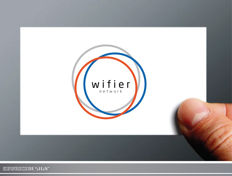 Logo Design by kowreck - Entry No. 104 in the Logo Design Contest New Logo Design for Wifier Network.