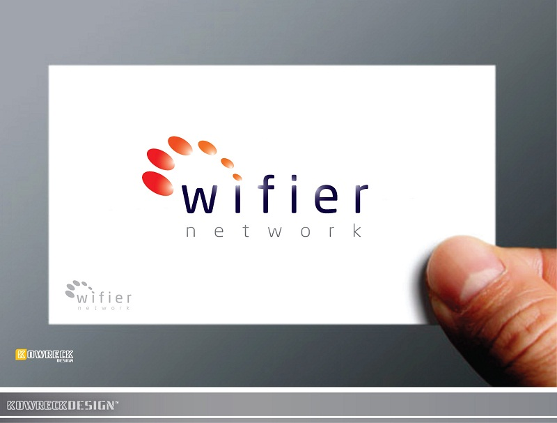 Logo Design by kowreck - Entry No. 106 in the Logo Design Contest New Logo Design for Wifier Network.