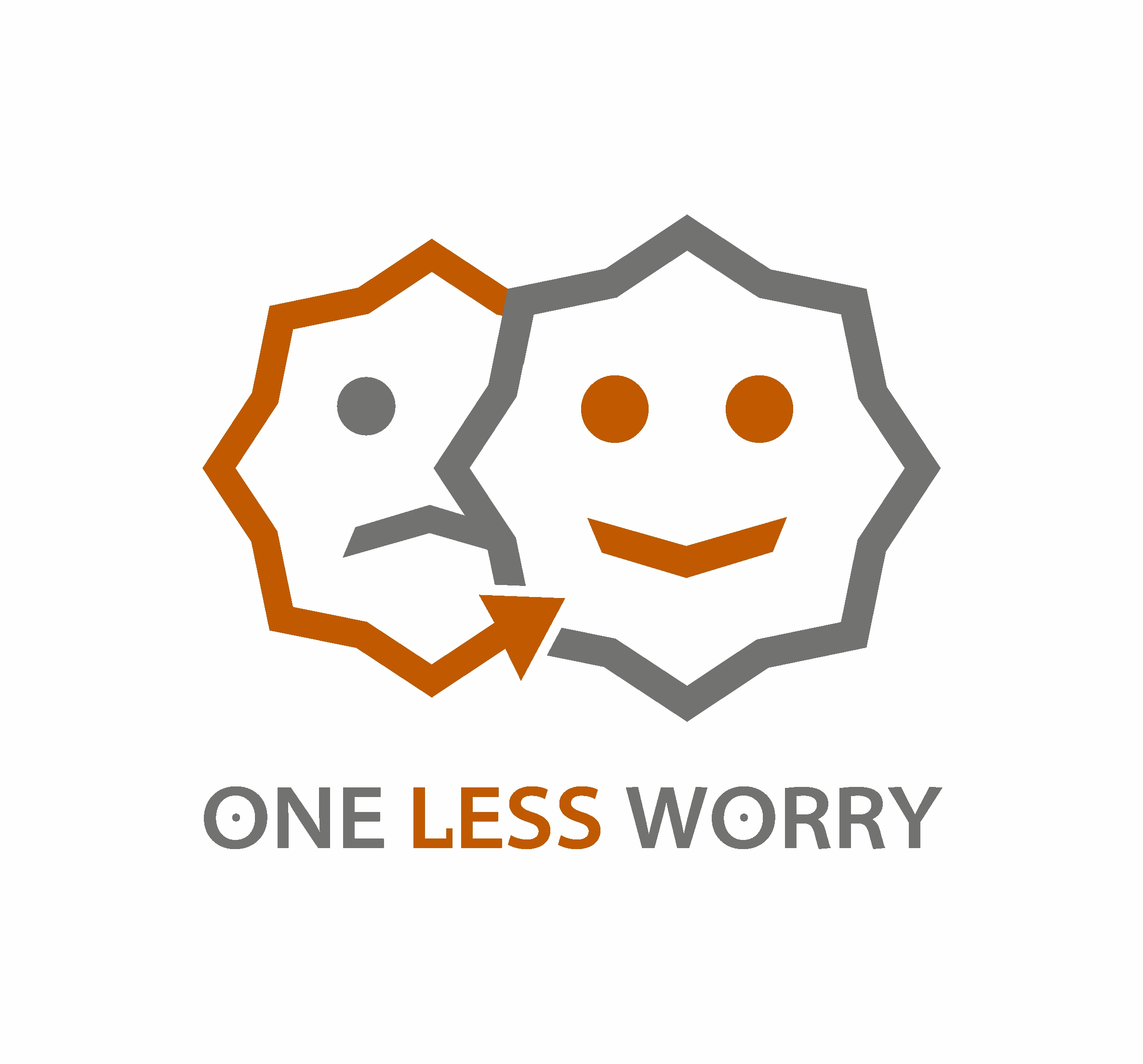 Logo Design by Amit Kaushik - Entry No. 11 in the Logo Design Contest Creative Logo Design for FS - One Less Worry.