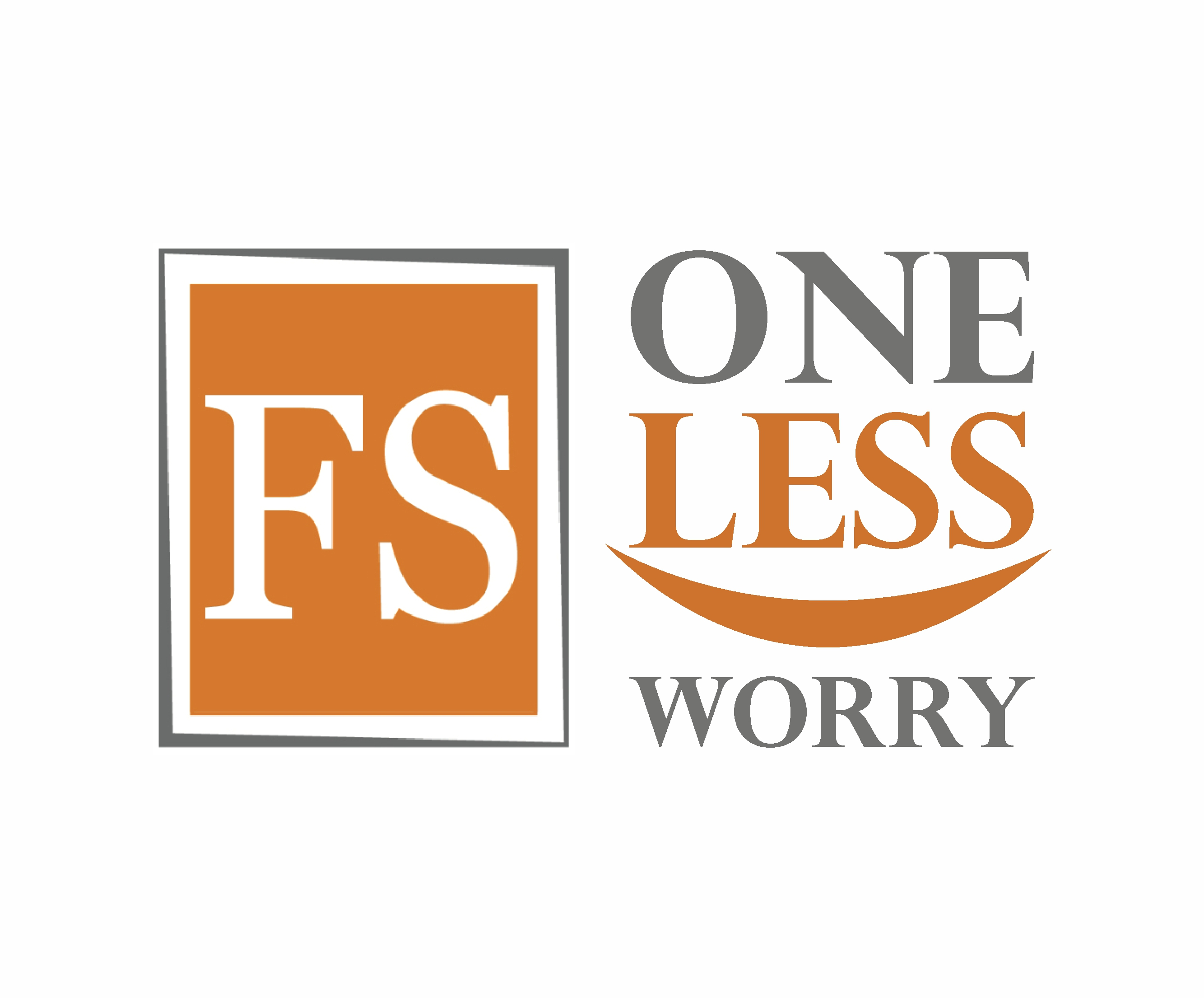 Logo Design by Amit Kaushik - Entry No. 13 in the Logo Design Contest Creative Logo Design for FS - One Less Worry.