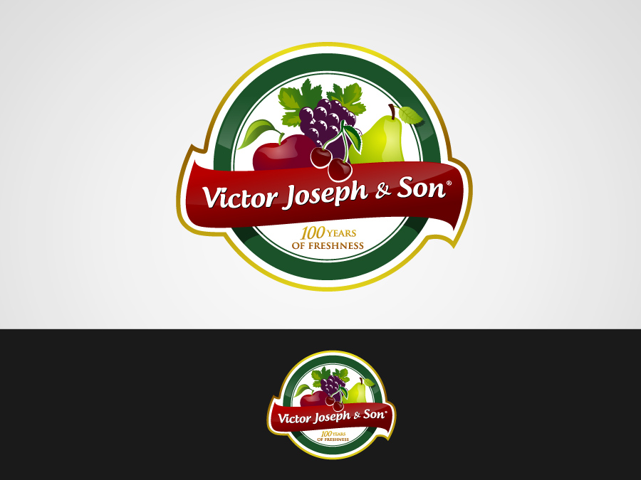 Logo Design by jpbituin - Entry No. 44 in the Logo Design Contest Imaginative Logo Design for Victor Joseph & Son, Inc..