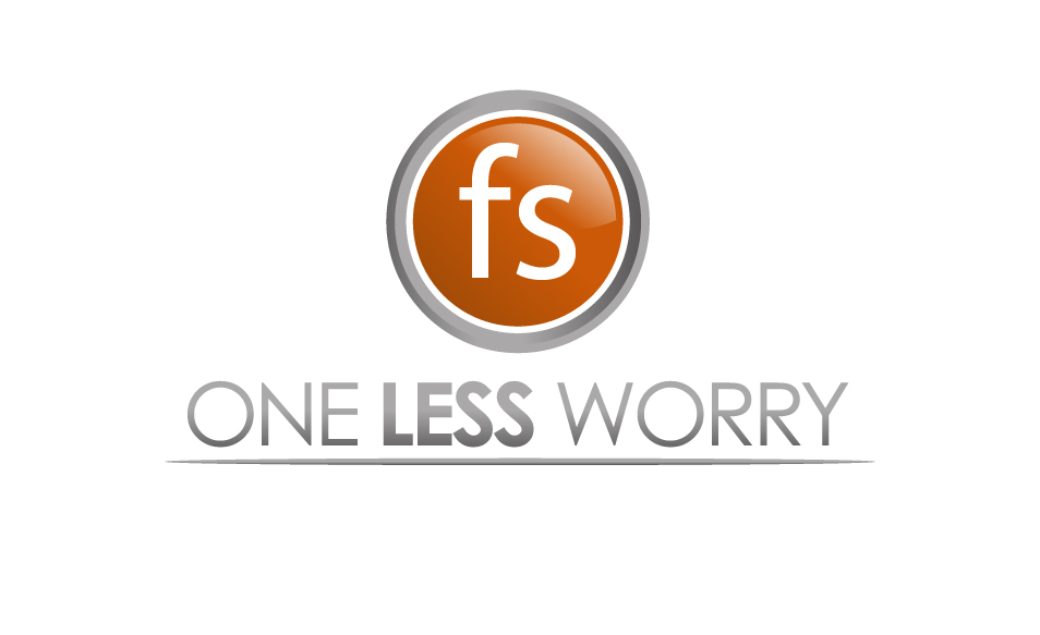 Logo Design by Ndaru Ap - Entry No. 14 in the Logo Design Contest Creative Logo Design for FS - One Less Worry.