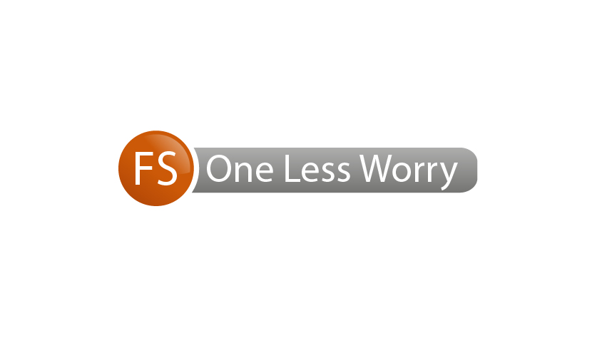 Logo Design by Ndaru Ap - Entry No. 15 in the Logo Design Contest Creative Logo Design for FS - One Less Worry.