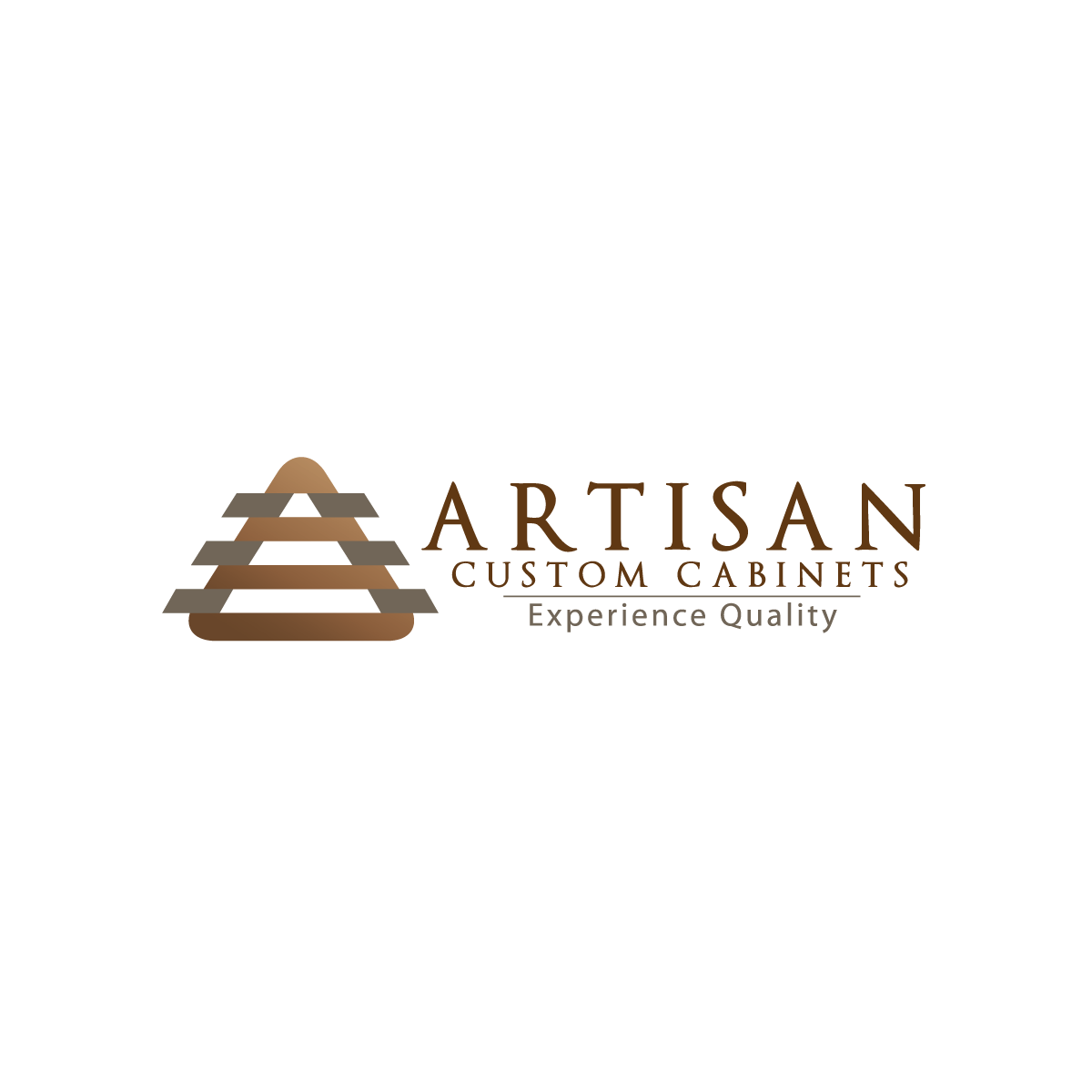 Logo Design by rockin - Entry No. 74 in the Logo Design Contest Creative Logo Design for Artisan Custom Cabinets.