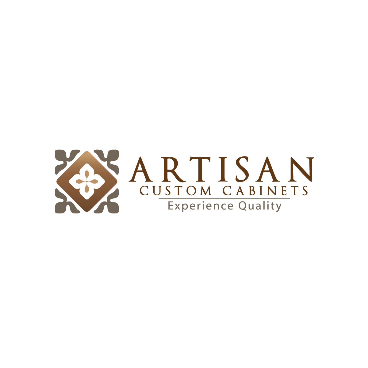 Logo Design by rockin - Entry No. 76 in the Logo Design Contest Creative Logo Design for Artisan Custom Cabinets.