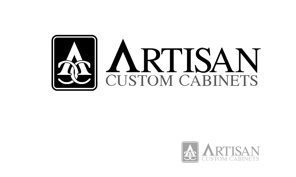 Logo Design by Private User - Entry No. 80 in the Logo Design Contest Creative Logo Design for Artisan Custom Cabinets.
