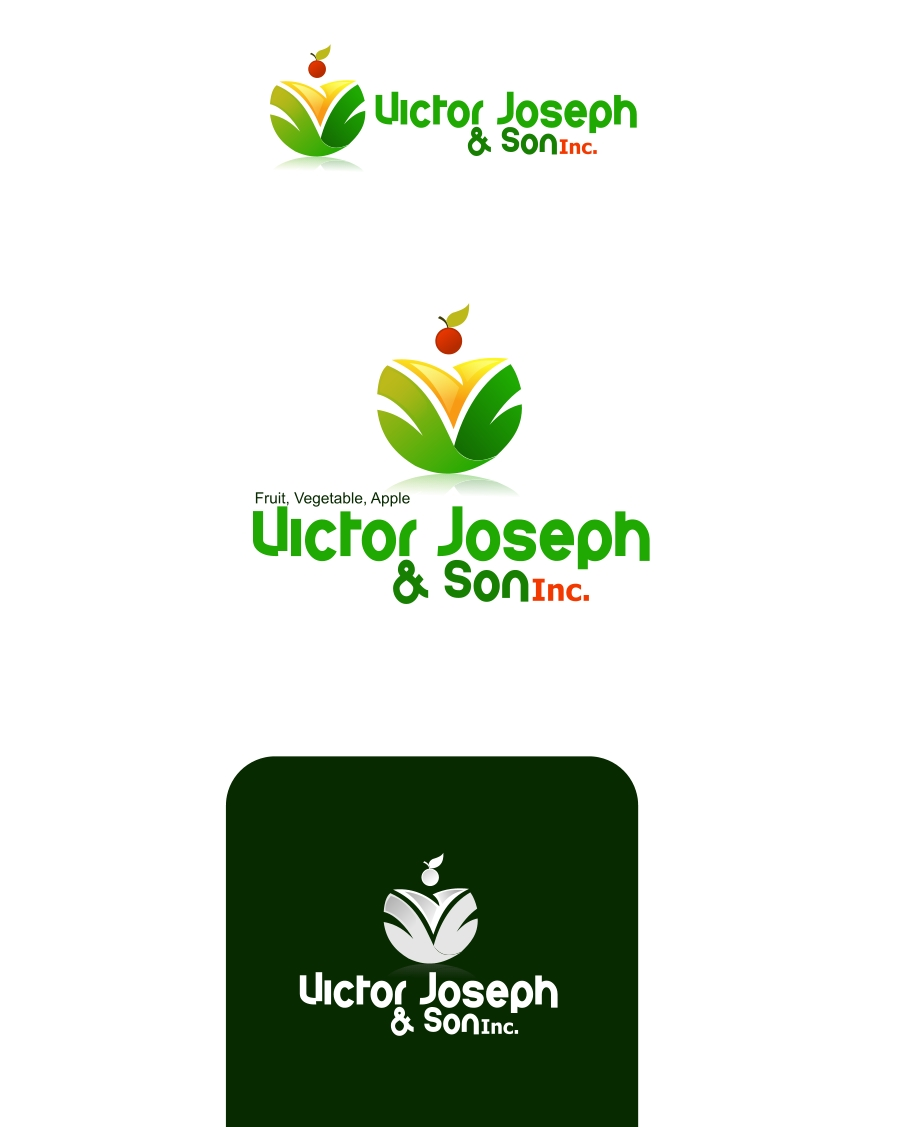 Logo Design by Private User - Entry No. 46 in the Logo Design Contest Imaginative Logo Design for Victor Joseph & Son, Inc..