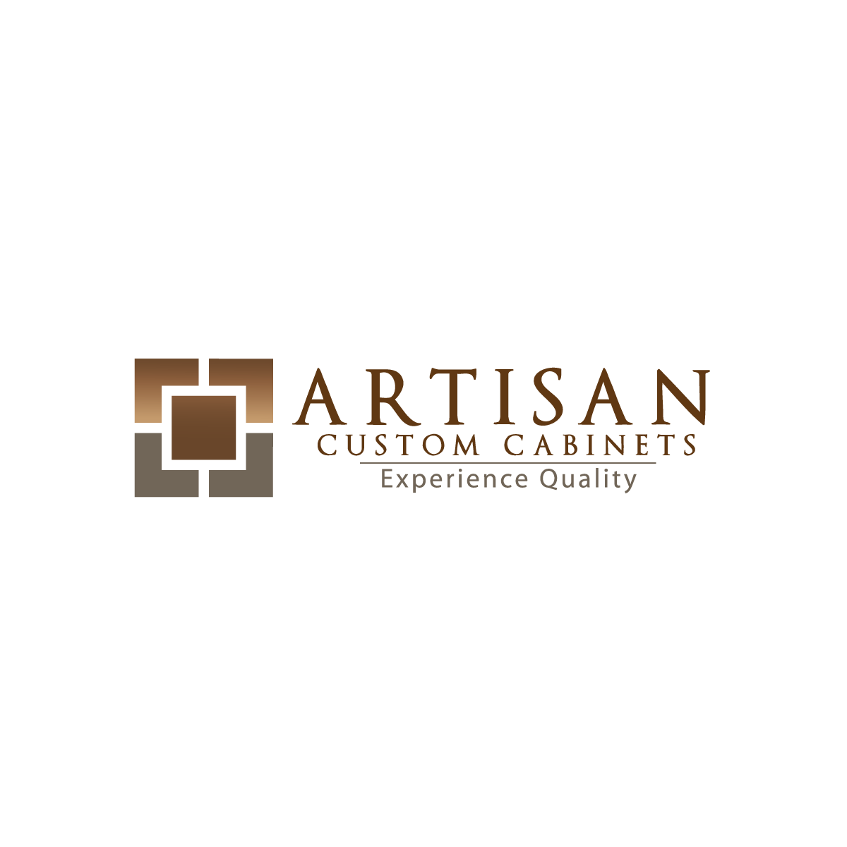 Logo Design by rockin - Entry No. 83 in the Logo Design Contest Creative Logo Design for Artisan Custom Cabinets.