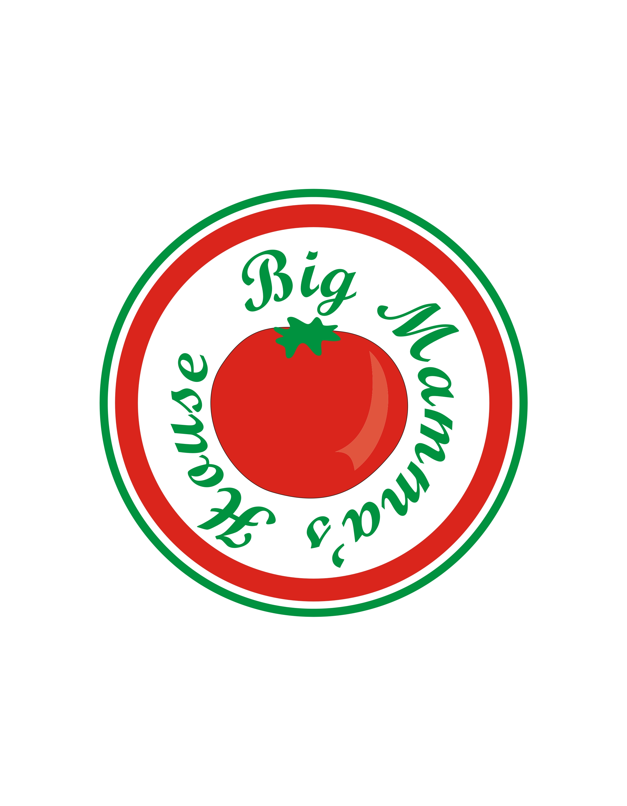 Logo Design by Private User - Entry No. 22 in the Logo Design Contest Captivating Logo Design for Big Mamma's House.