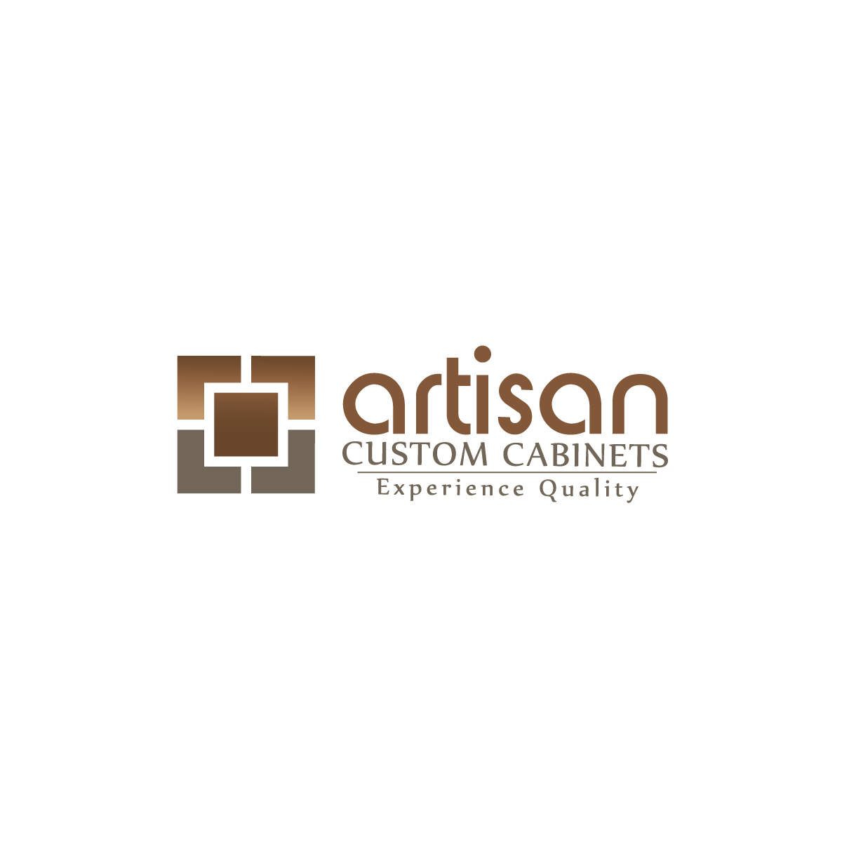 Logo Design by rockin - Entry No. 87 in the Logo Design Contest Creative Logo Design for Artisan Custom Cabinets.