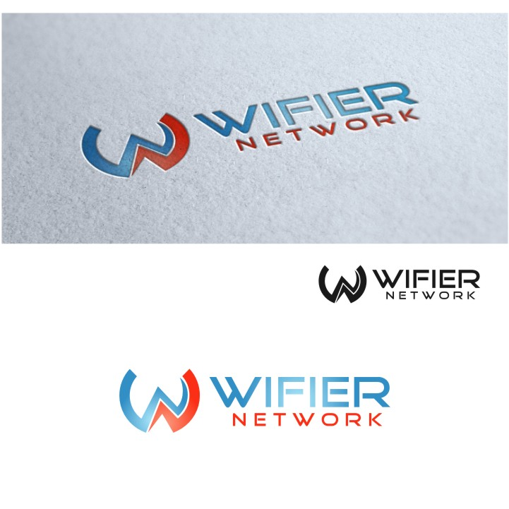 Logo Design by untung - Entry No. 111 in the Logo Design Contest New Logo Design for Wifier Network.