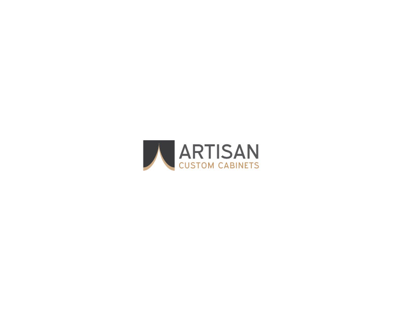 Logo Design by Mahir Hamzic - Entry No. 91 in the Logo Design Contest Creative Logo Design for Artisan Custom Cabinets.