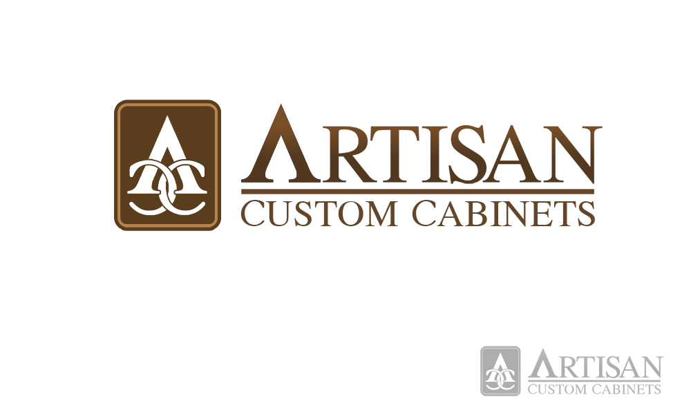 Logo Design by Robert Turla - Entry No. 94 in the Logo Design Contest Creative Logo Design for Artisan Custom Cabinets.