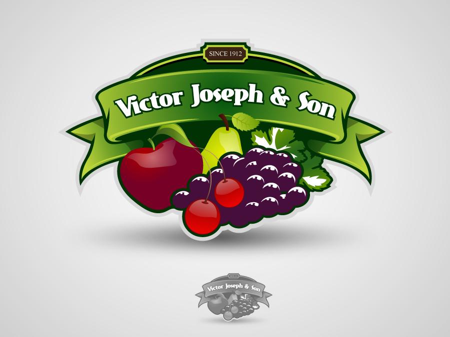Logo Design by jpbituin - Entry No. 48 in the Logo Design Contest Imaginative Logo Design for Victor Joseph & Son, Inc..