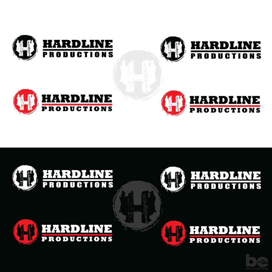 Logo Design by baboons - Entry No. 165 in the Logo Design Contest Hardline Productions.