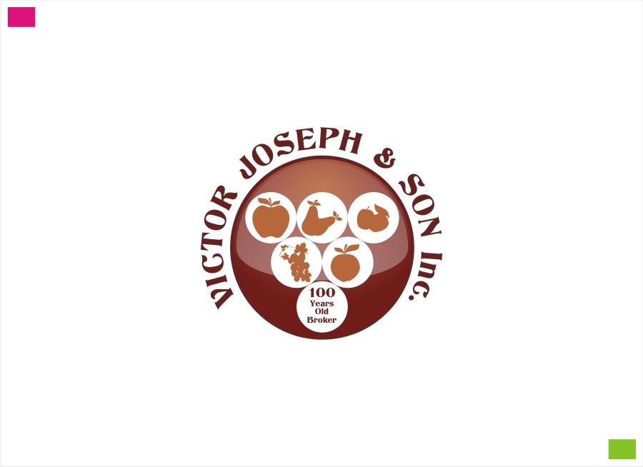 Logo Design by Private User - Entry No. 50 in the Logo Design Contest Imaginative Logo Design for Victor Joseph & Son, Inc..