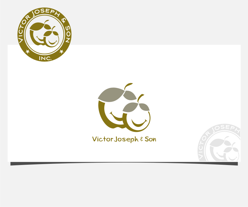 Logo Design by graphicleaf - Entry No. 55 in the Logo Design Contest Imaginative Logo Design for Victor Joseph & Son, Inc..