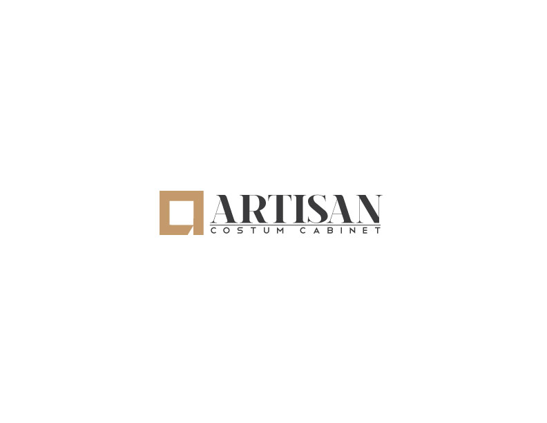 Logo Design by Mahir Hamzic - Entry No. 102 in the Logo Design Contest Creative Logo Design for Artisan Custom Cabinets.