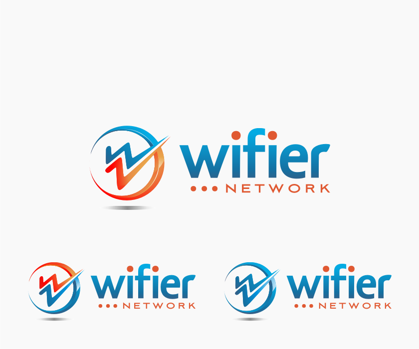 Logo Design by graphicleaf - Entry No. 133 in the Logo Design Contest New Logo Design for Wifier Network.