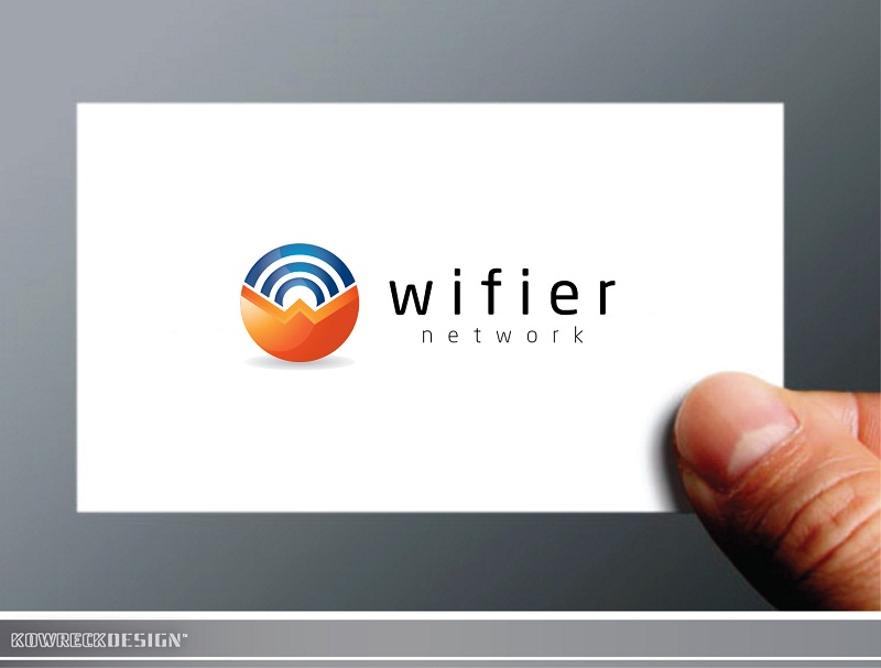 Logo Design by kowreck - Entry No. 134 in the Logo Design Contest New Logo Design for Wifier Network.