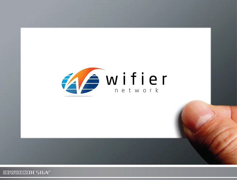 Logo Design by kowreck - Entry No. 135 in the Logo Design Contest New Logo Design for Wifier Network.