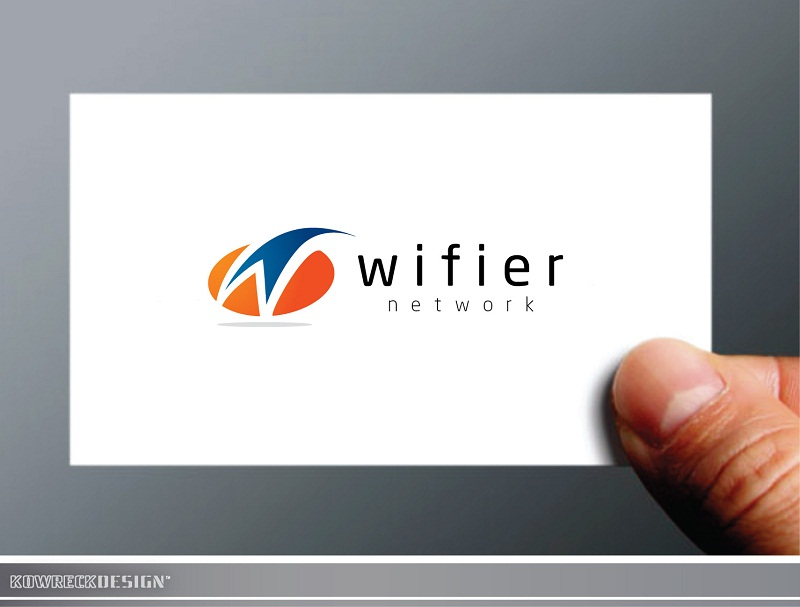 Logo Design by kowreck - Entry No. 136 in the Logo Design Contest New Logo Design for Wifier Network.