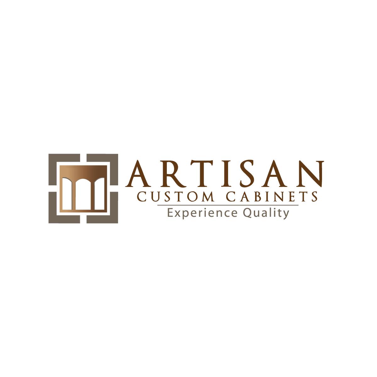 Logo Design by rockin - Entry No. 106 in the Logo Design Contest Creative Logo Design for Artisan Custom Cabinets.
