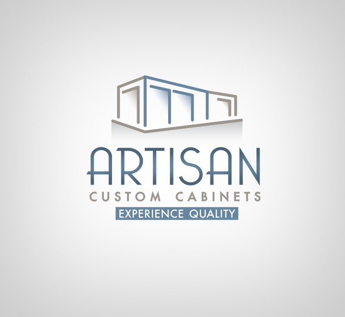 Logo Design by nausigeo - Entry No. 108 in the Logo Design Contest Creative Logo Design for Artisan Custom Cabinets.
