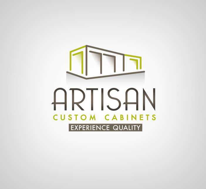 Logo Design by nausigeo - Entry No. 109 in the Logo Design Contest Creative Logo Design for Artisan Custom Cabinets.