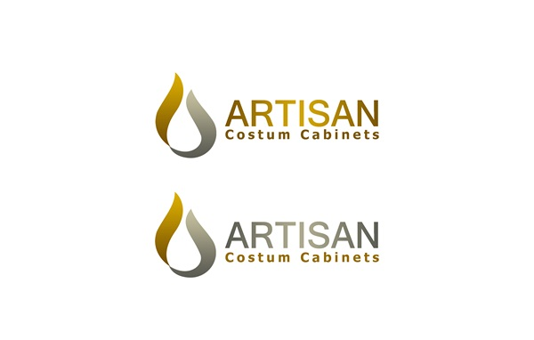 Logo Design by Respati Himawan - Entry No. 110 in the Logo Design Contest Creative Logo Design for Artisan Custom Cabinets.