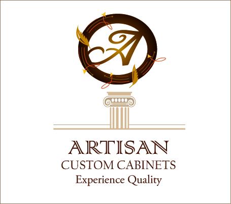 Logo Design by Vivek Singh - Entry No. 112 in the Logo Design Contest Creative Logo Design for Artisan Custom Cabinets.