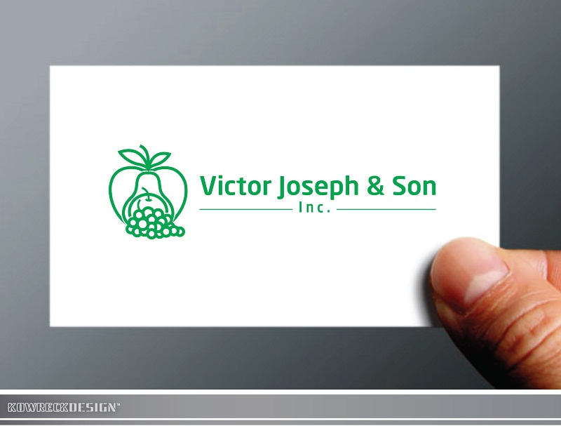 Logo Design by kowreck - Entry No. 59 in the Logo Design Contest Imaginative Logo Design for Victor Joseph & Son, Inc..