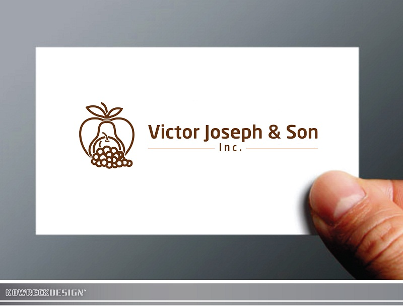 Logo Design by kowreck - Entry No. 60 in the Logo Design Contest Imaginative Logo Design for Victor Joseph & Son, Inc..