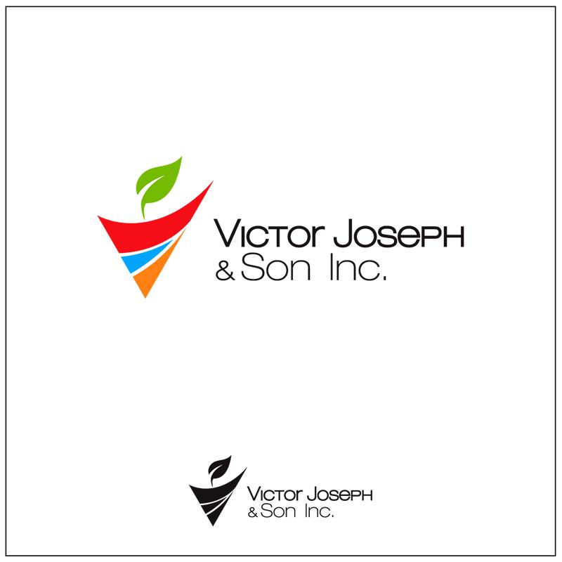 Logo Design by Adrian Chambre - Entry No. 62 in the Logo Design Contest Imaginative Logo Design for Victor Joseph & Son, Inc..