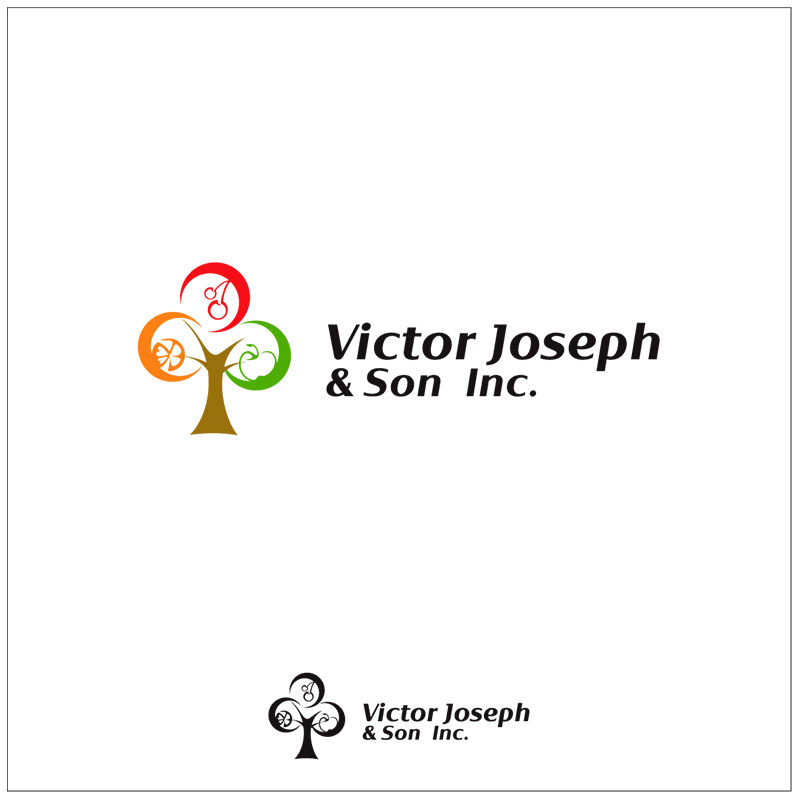 Logo Design by Adrian Chambre - Entry No. 63 in the Logo Design Contest Imaginative Logo Design for Victor Joseph & Son, Inc..