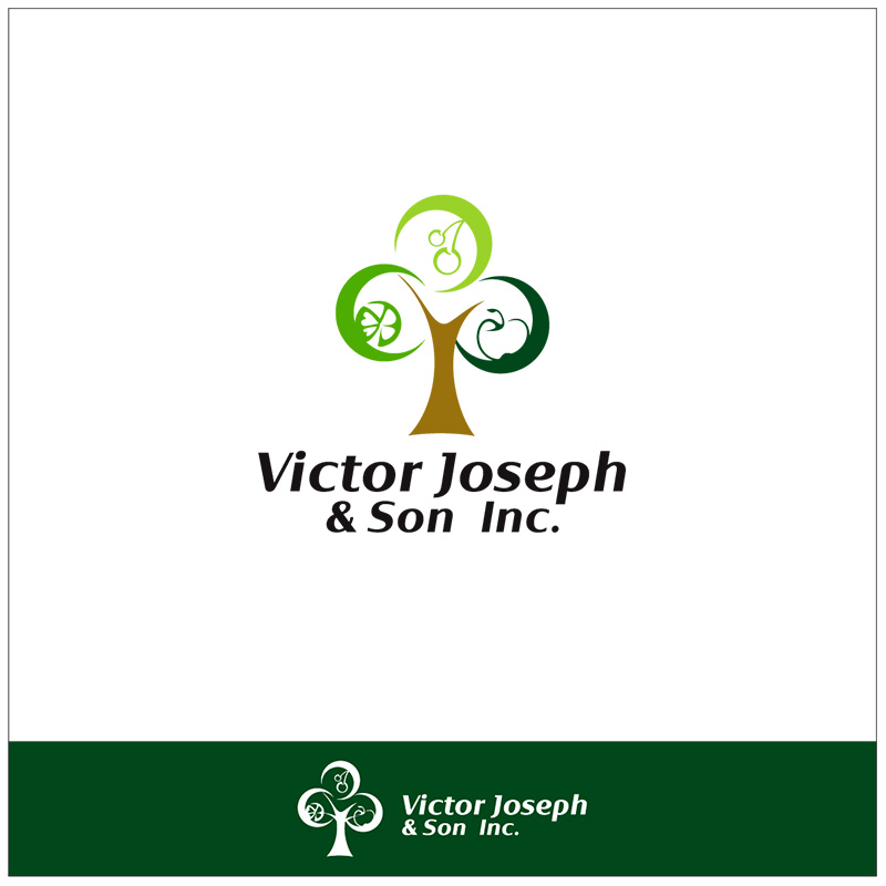 Logo Design by Adrian Chambre - Entry No. 64 in the Logo Design Contest Imaginative Logo Design for Victor Joseph & Son, Inc..