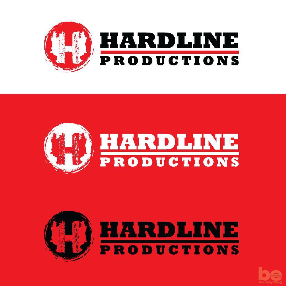 Logo Design by baboons - Entry No. 166 in the Logo Design Contest Hardline Productions.
