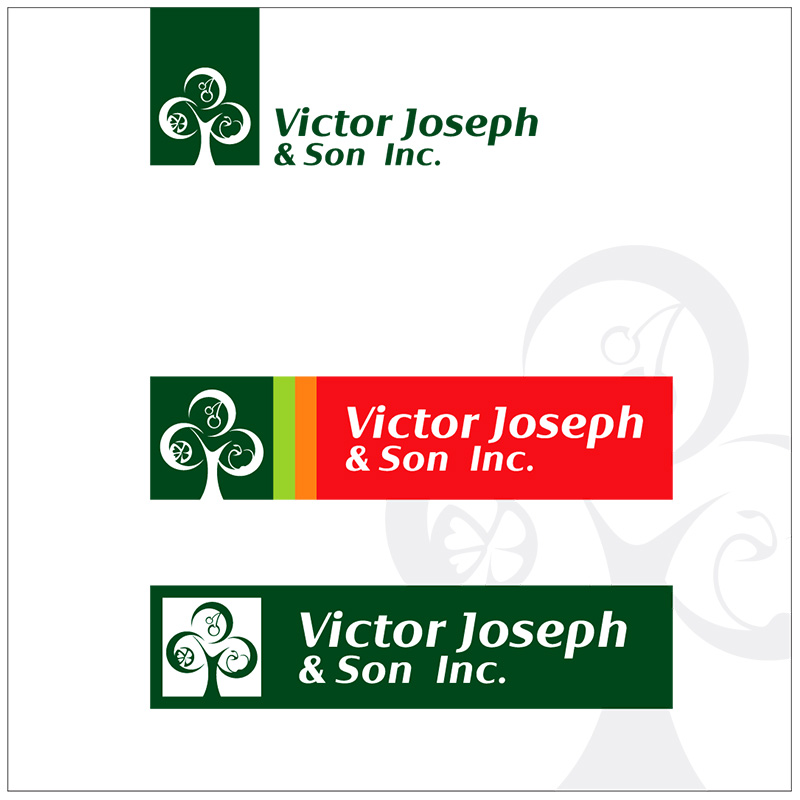 Logo Design by Adrian Chambre - Entry No. 65 in the Logo Design Contest Imaginative Logo Design for Victor Joseph & Son, Inc..