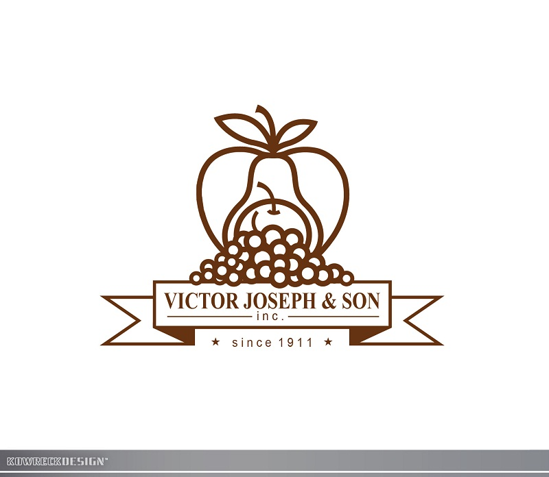 Logo Design by kowreck - Entry No. 67 in the Logo Design Contest Imaginative Logo Design for Victor Joseph & Son, Inc..
