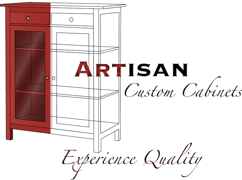 Logo Design by Thanasis Athanasopoulos - Entry No. 113 in the Logo Design Contest Creative Logo Design for Artisan Custom Cabinets.