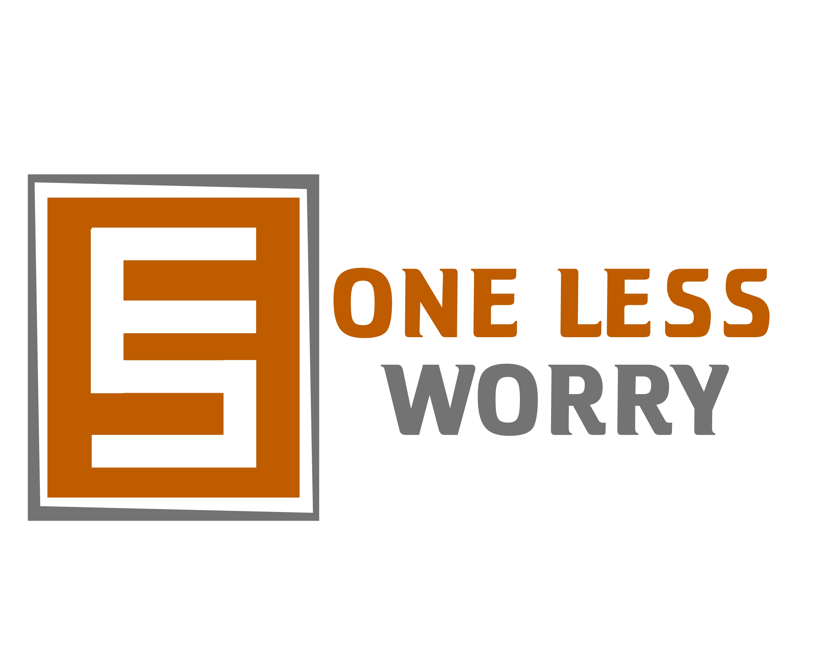Logo Design by Private User - Entry No. 22 in the Logo Design Contest Creative Logo Design for FS - One Less Worry.