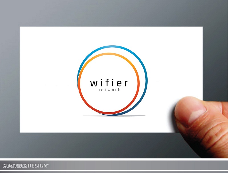 Logo Design by kowreck - Entry No. 144 in the Logo Design Contest New Logo Design for Wifier Network.