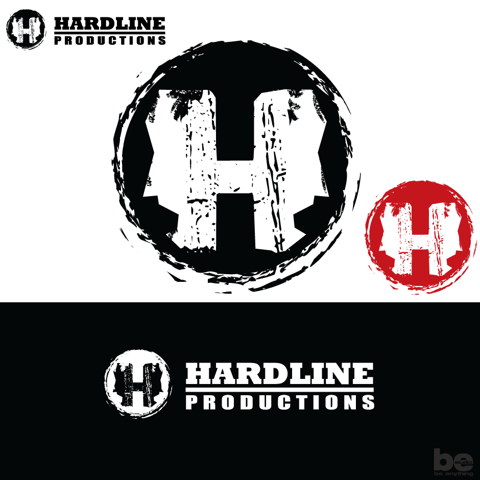 Logo Design by baboons - Entry No. 168 in the Logo Design Contest Hardline Productions.