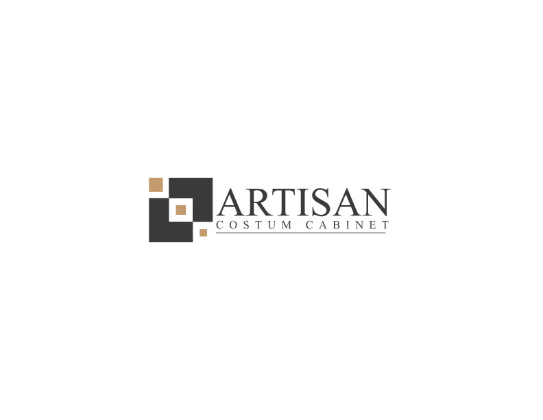 Logo Design by Mahir Hamzic - Entry No. 121 in the Logo Design Contest Creative Logo Design for Artisan Custom Cabinets.