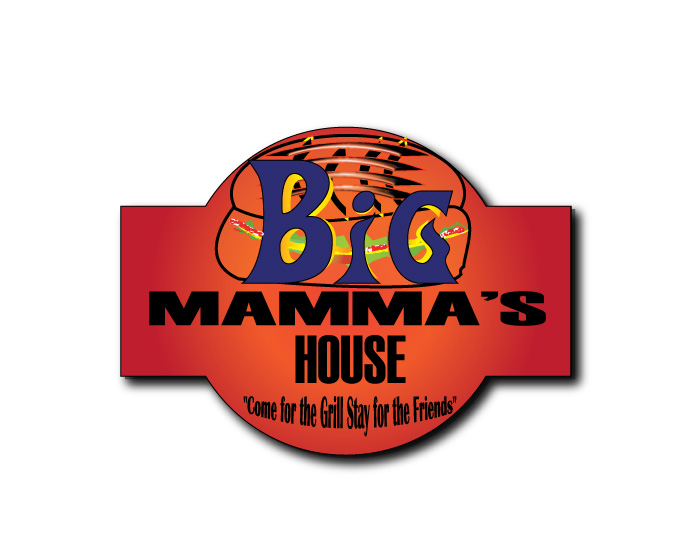 Logo Design by Diana Roder - Entry No. 25 in the Logo Design Contest Captivating Logo Design for Big Mamma's House.