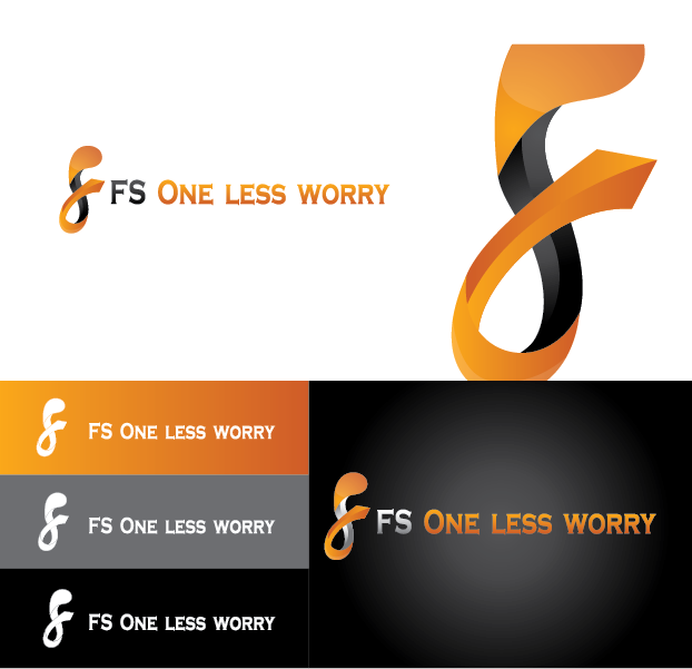 Logo Design by Muhammad Moinjaved - Entry No. 27 in the Logo Design Contest Creative Logo Design for FS - One Less Worry.