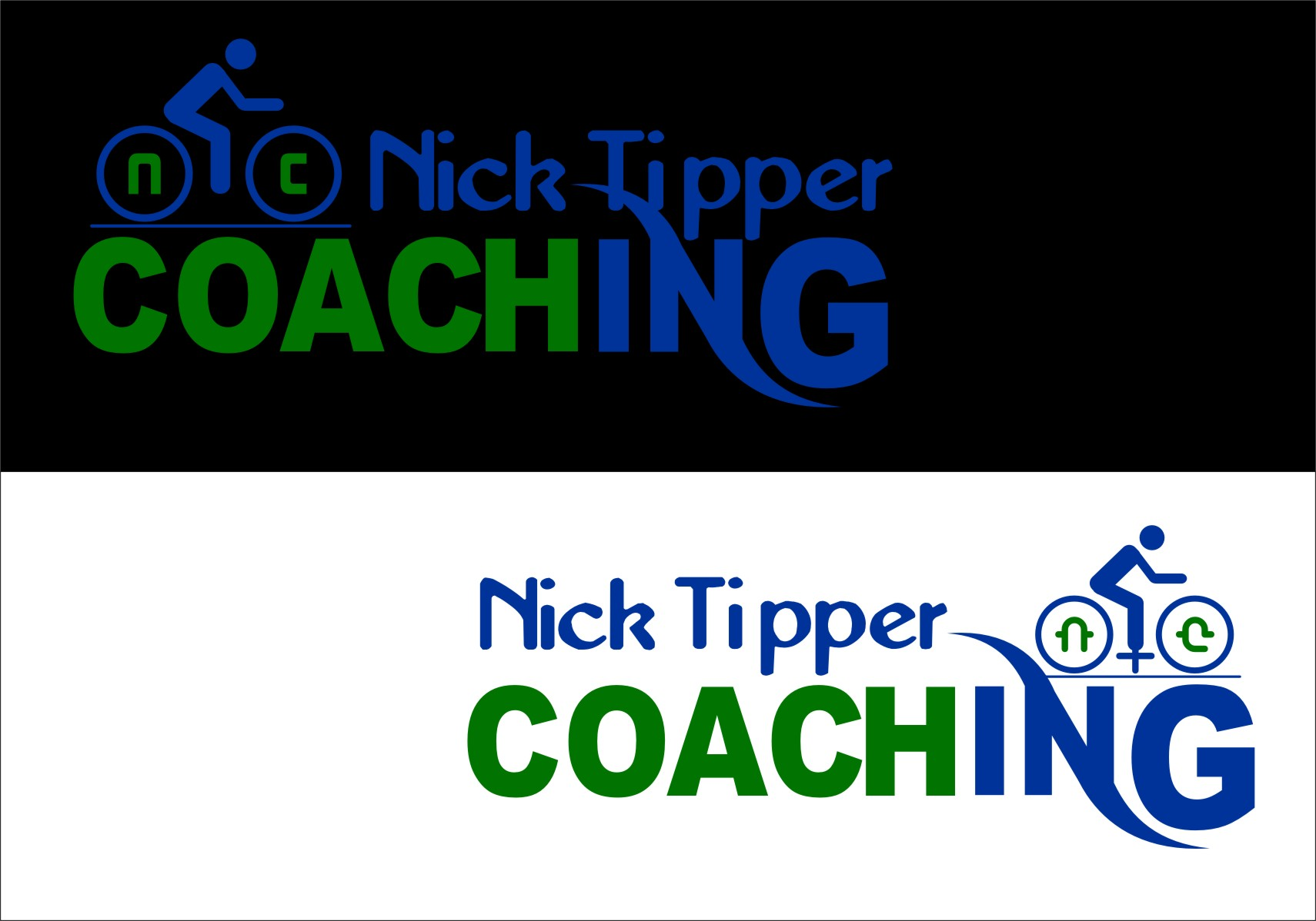 Logo Design by Ngepet_art - Entry No. 171 in the Logo Design Contest Logo Design for Nick Tipper Coaching.