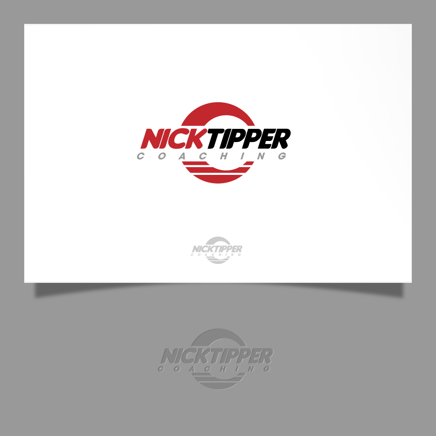 Logo Design by zesthar - Entry No. 172 in the Logo Design Contest Logo Design for Nick Tipper Coaching.